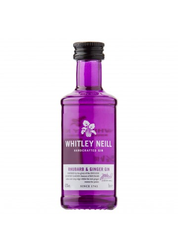 Whitley Neill Rhubarb & Ginger 43%, 0,05L