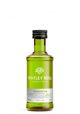 Whitley Neill Gooseberry Gin 43%, 0,05L