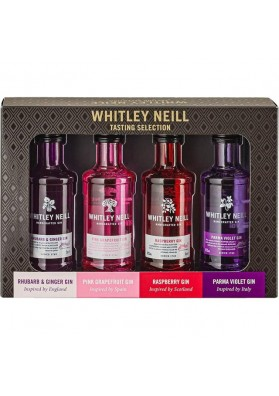 Whitley Neill Flavoured Selection Gins (4x5cl) 43%
