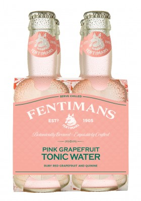 Pink Grapefruit Tonic Water 200 ml