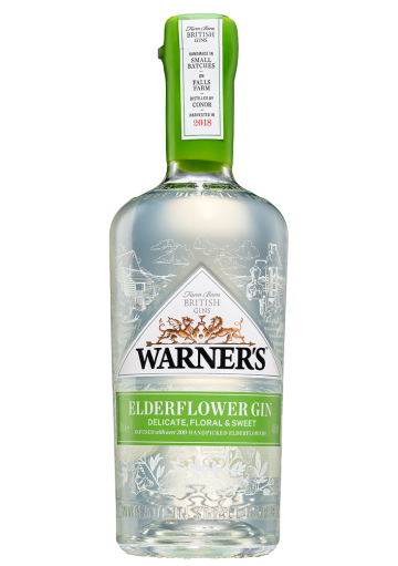 Elderflower gin 70 cl