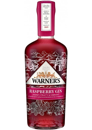 Raspberry gin 70 cl