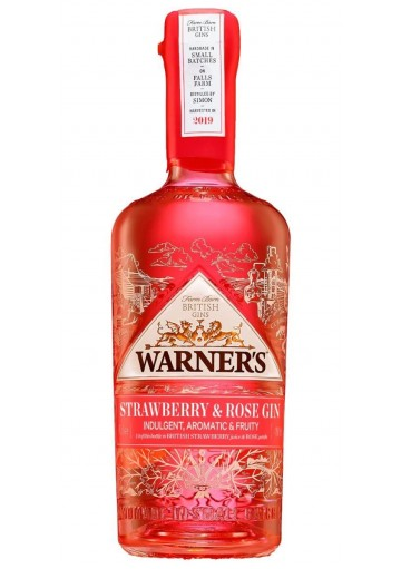 Strawberry & Rose Gin 70cl