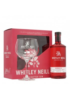Whitley Neill Raspberry gin gift box, 43%, 0,7l