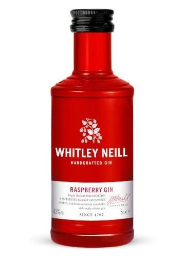 Whitley Neill Raspberry 43%, 0,05L