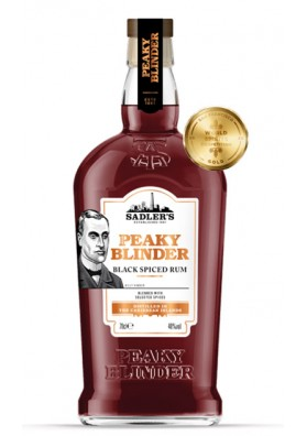 Sadler's Peaky Blinder black spiced rum