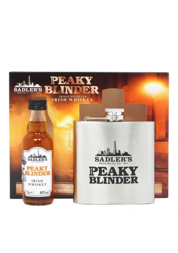 Peaky Blinder Irish Whiskey 40%, 0,05L s placatkou