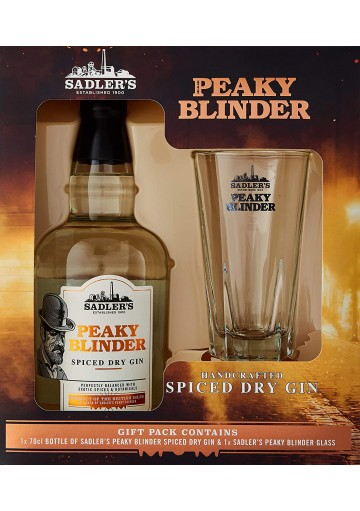 Peaky Blinder Irish Whiskey 40%, 700ml gift box s placatkou
