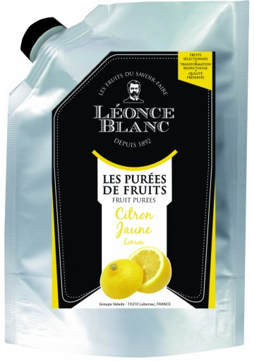 Léonce Blanc Citronové pyré 1000g