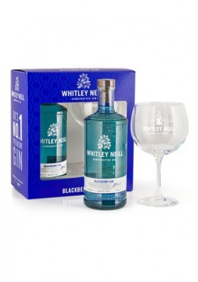 Whitley Neill Blackberry gin gift box, 43%, 0,7l