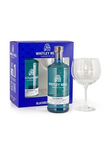 Whitley Neill Blackberry gin gift box, 43%, 0,7l