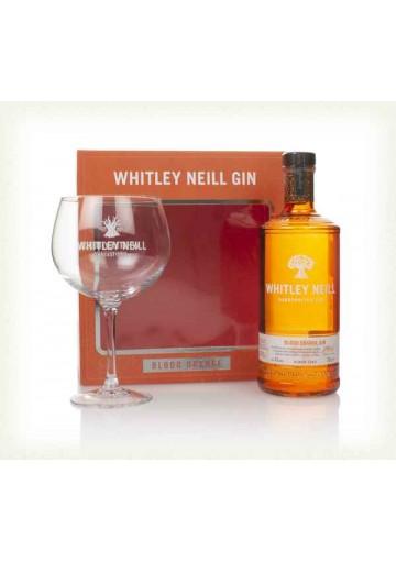 Whitley Neill Blood Orange Gin gift box 43%, 0,05L