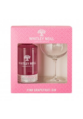 Whitley Neill Pink Grapefruit gin gift box, 43%, 0,7l