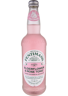 Fentimans Elderflower & Rose Tonic Water 500 ml