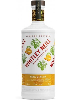 Whitley Neill Mango & Lime gin ( Limited Edition ) 0,7L 43%