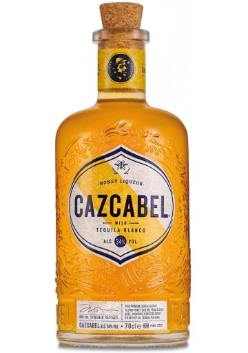 Cazcabel Honey Tequila 70cl alc 34%