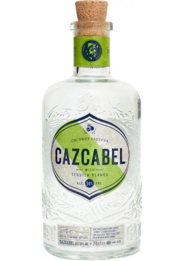 Cazcabel Coconut Tequila 70cl alc 34%