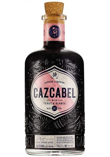 Cazcabel Coffee Tequila 70cl alc 34%